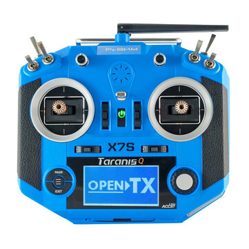 Coupone for Frsky 2.4G 16CH ACCST Taranis Q X7S Transmitter Mode 2 M7 Gimbal Wireless Trainer Free Link RC Drone