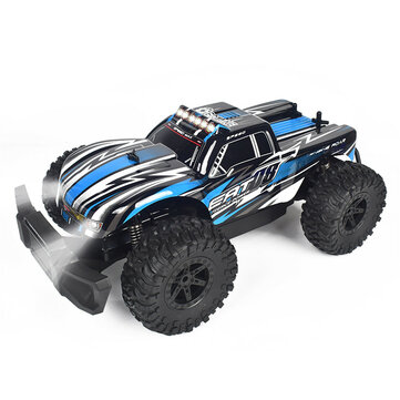 Coupone for Eachine EAT08 1/14 All Terrain RC Car RTR Electric Vehicle with 2.4 GHz Remote Control and LED Lights Off Road RC Crawler 20+ Min Play Great Gifts for Boys Kids and Adults
