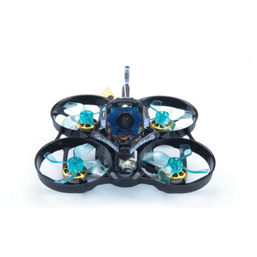 Coupone for GEELANG ANGER 75X V2 5.8G Whoop 3-4S 75mm FPV Racing Drone BNF/PNP SI-F4FC GL950PRO GL1202 6900KV Motor