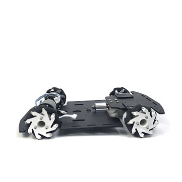 Coupone for Mecanum Wheel Single-layer Trolley Chassis Omni-Wheel Smart Car Metal Chassis for Robot Racing Car