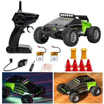 Coupone for S638 with 2/3 Battery 1/32 2.4G 4CH Full Scale Mini RC Car Dual Motor Off-Road Vehicles Kids Child Toys LED Light Model