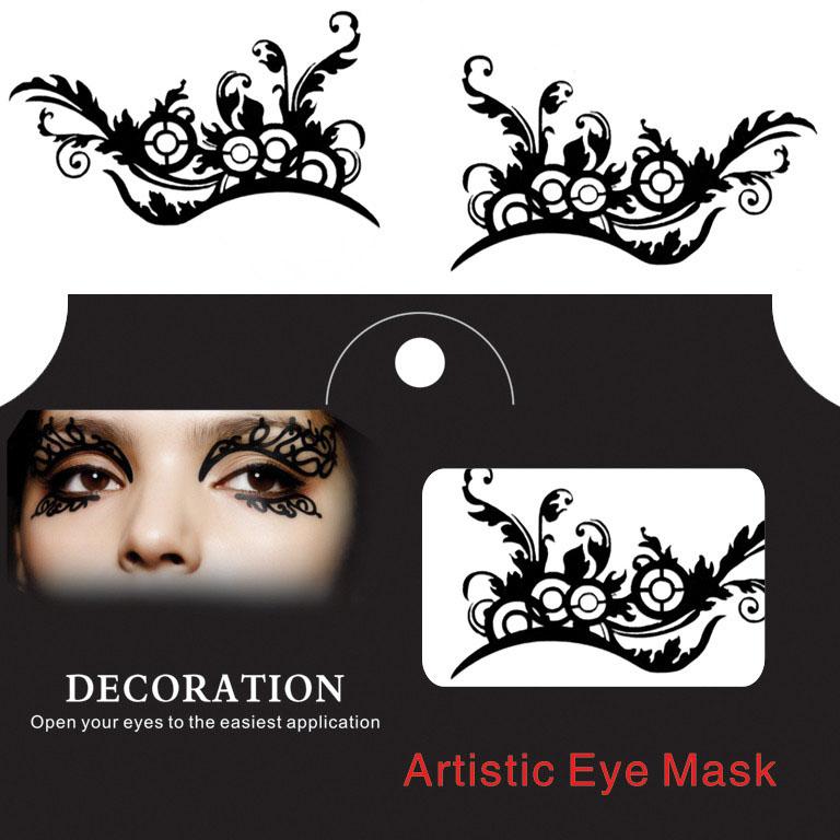 Eye Tattoo Sticker Halloween Squishy Eyes Liner L