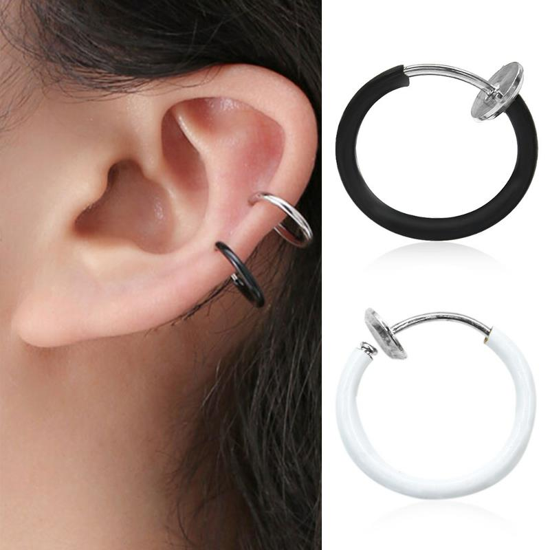 Fashion Earring Clip Nose Rings Lip Nail Multipurpose J