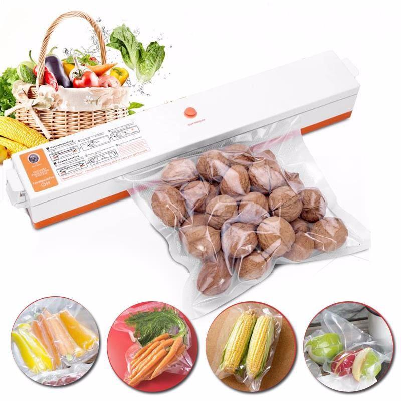 Automatic Electric Vacuum Sealer Food Saver Storage Bags Kitchen Seal Ring Machine Food Vacuum Machine