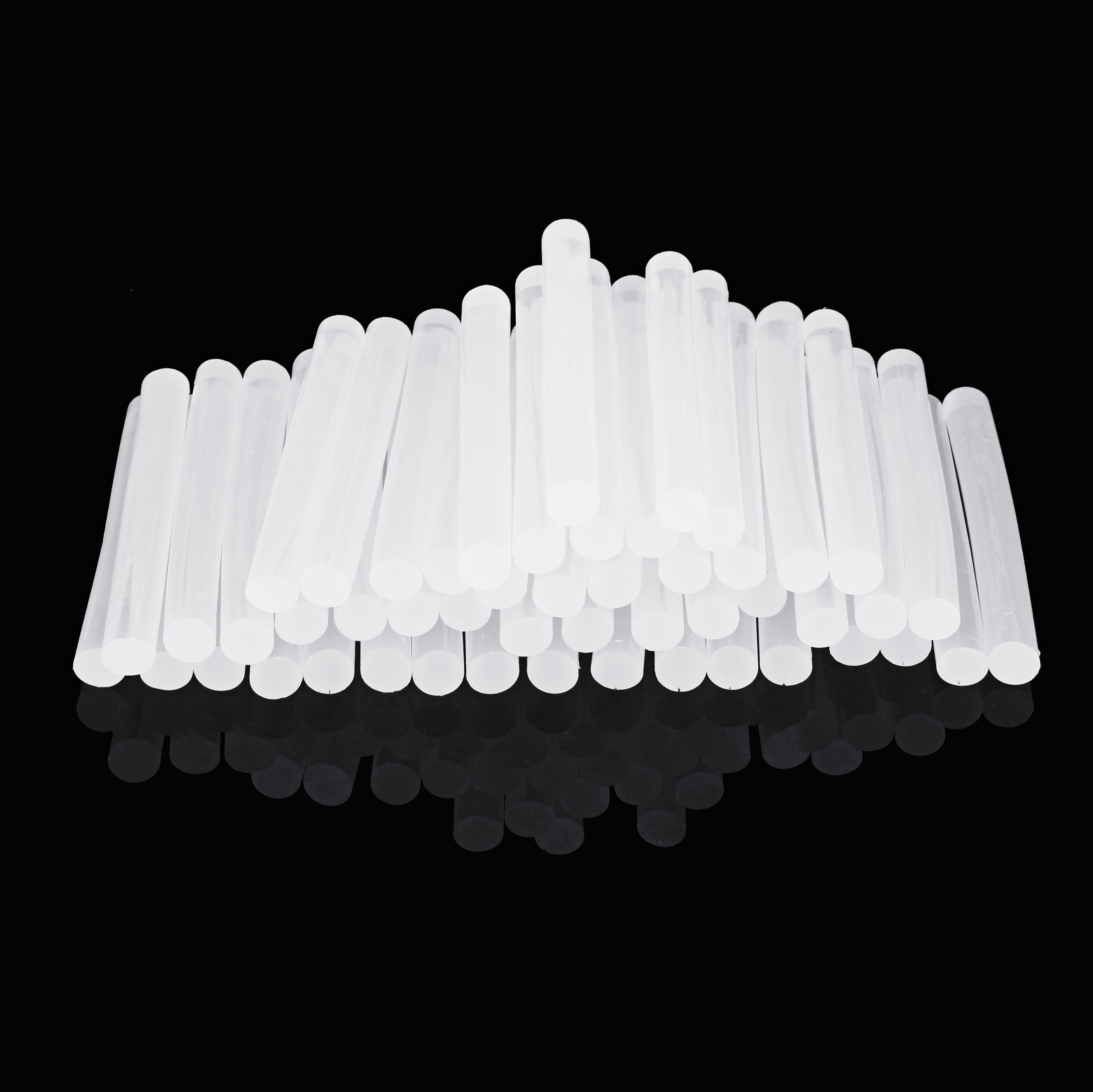 50Pcs 11mm x 100mm White Transparent Hot Melt Gule Sticks DIY Craft Model Repair Adhesive