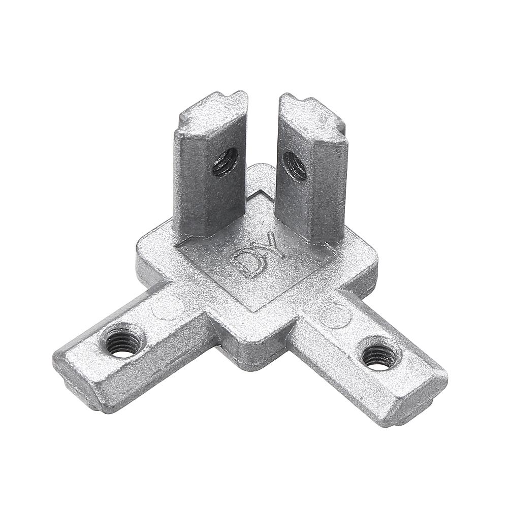 Suleve CJ20 T Slot 3 Way 90 Degree Inside Corner Connector Joint Bracket for 2020 Series Aluminum Profile