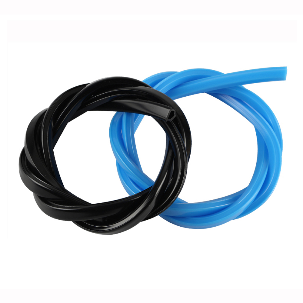 2Pcs Black/Blue 1M Aluminum Profile V-Slot Co