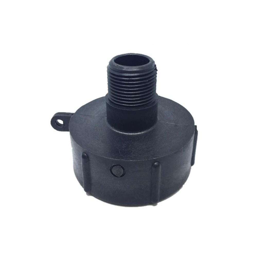 1000L S60x6 IBC Water Tank Adapter Coarse Thread Quick Connect for 1/2'' 3/4'' 1'' 2'' Hose Pipe Tap Replacement Valve Fitting Parts for Home Garden