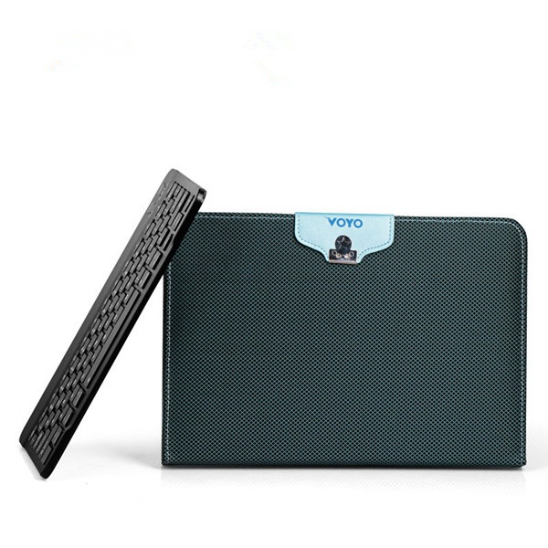 PU Leather Tablet Case With bluetooth Keyboard Fo