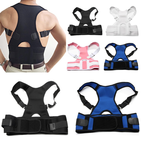 Adjustable Back Support Posture Corrector Brace S