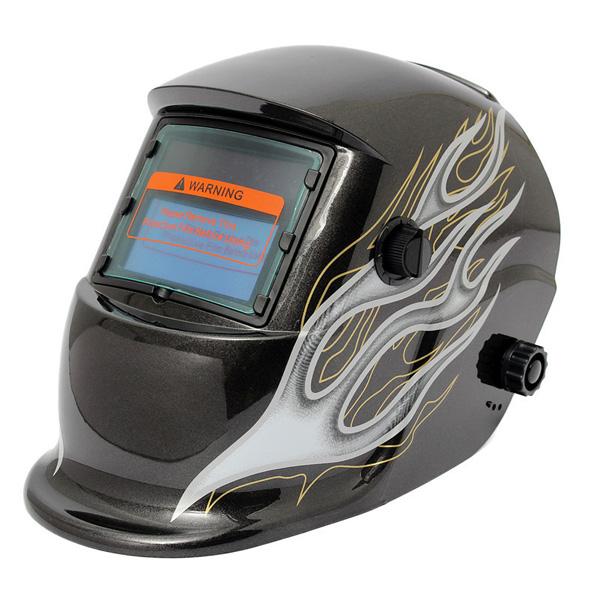 Black Flame Solar Auto Darkening Welder Welding Helmet