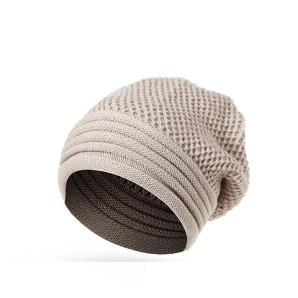 Men Women Winter Ear Warm Knitted Hats Casual Sport Sku