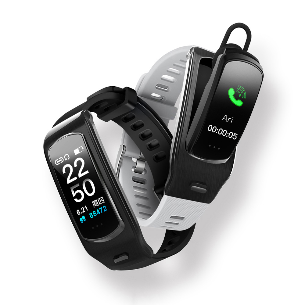 Bakeey M5 bluetooth Calling Heart Rate Blood Press