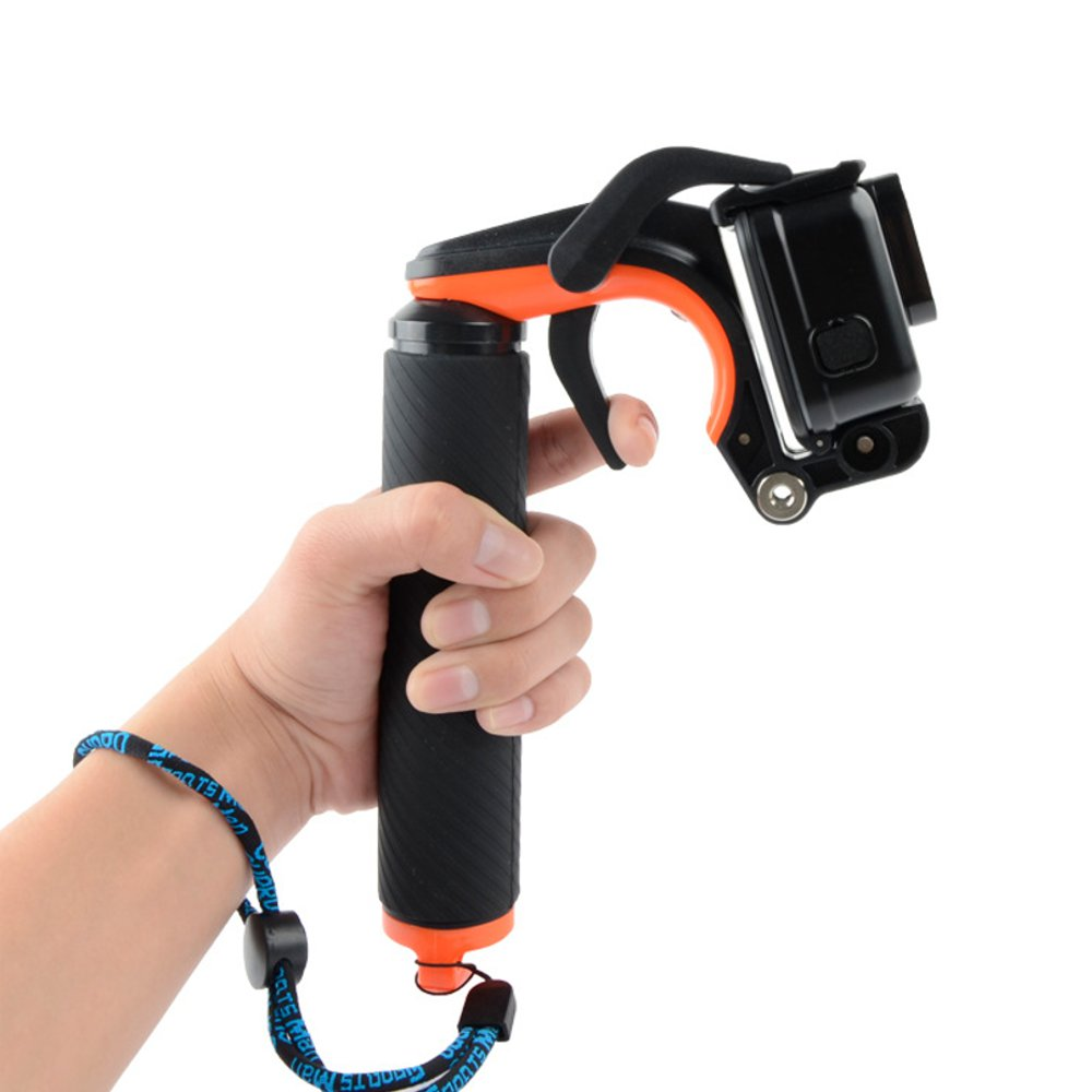 Diving Selfie Stick Remote Shutter Floating Hand Grip F