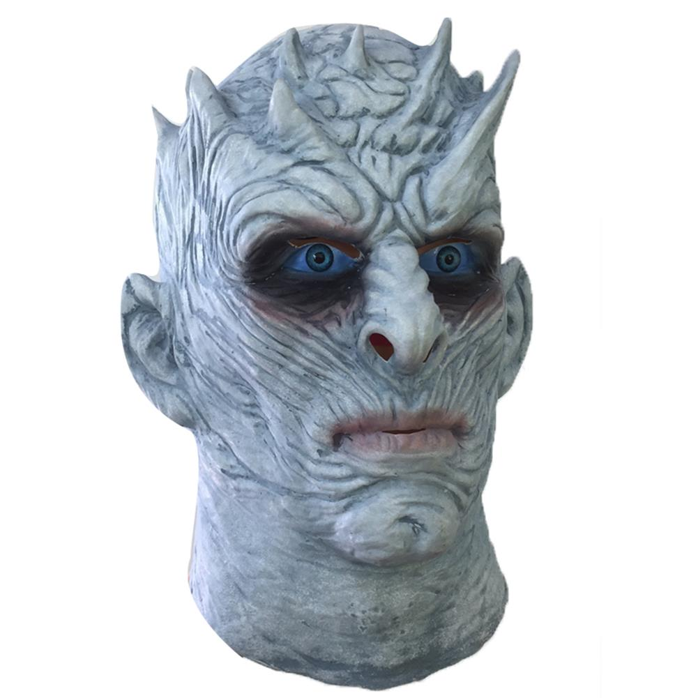 Hunting Men Latex Scary Mask Full Face Cosplay Horror F