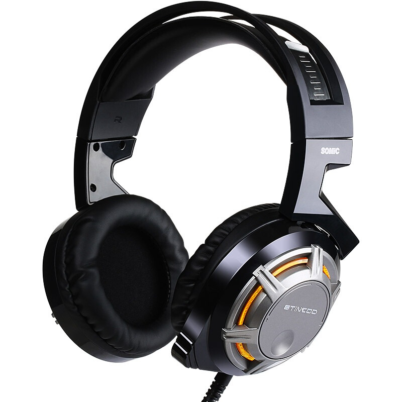 SOMiC G926 USB Wired LED Light Gaming Headphone H