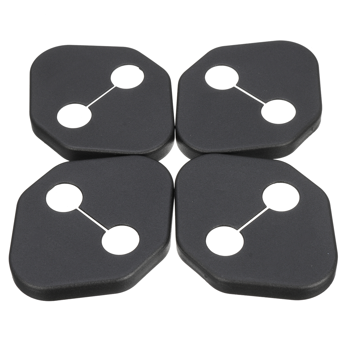 4Pcs Door Lock Ring Protective Car Cover Case For