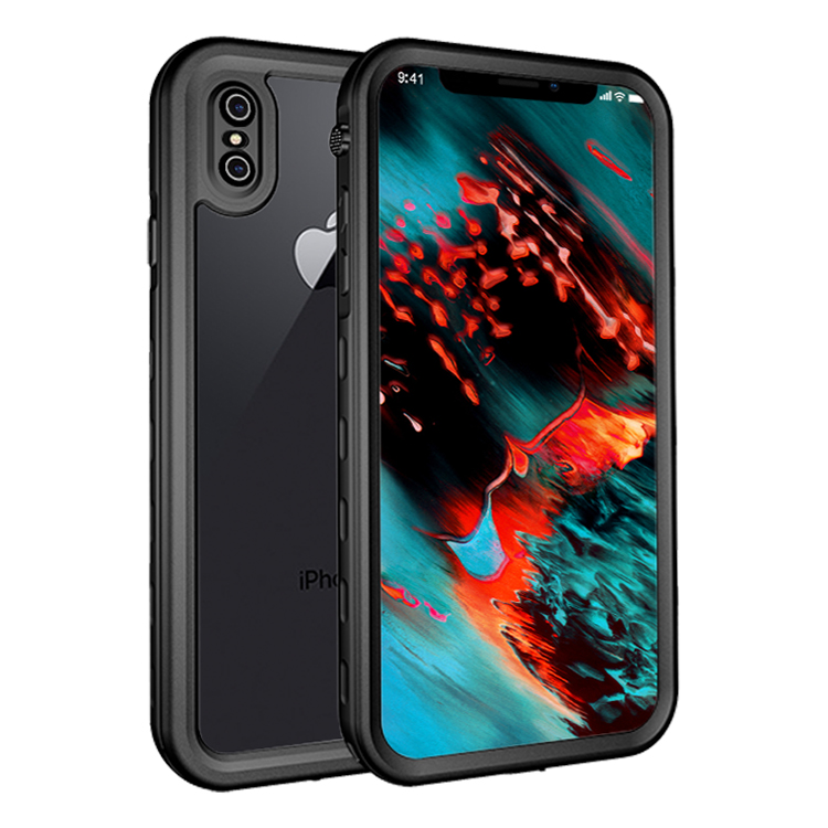 Bakeey IP68 Waterproof Case For iPhone XS/X Snowpr