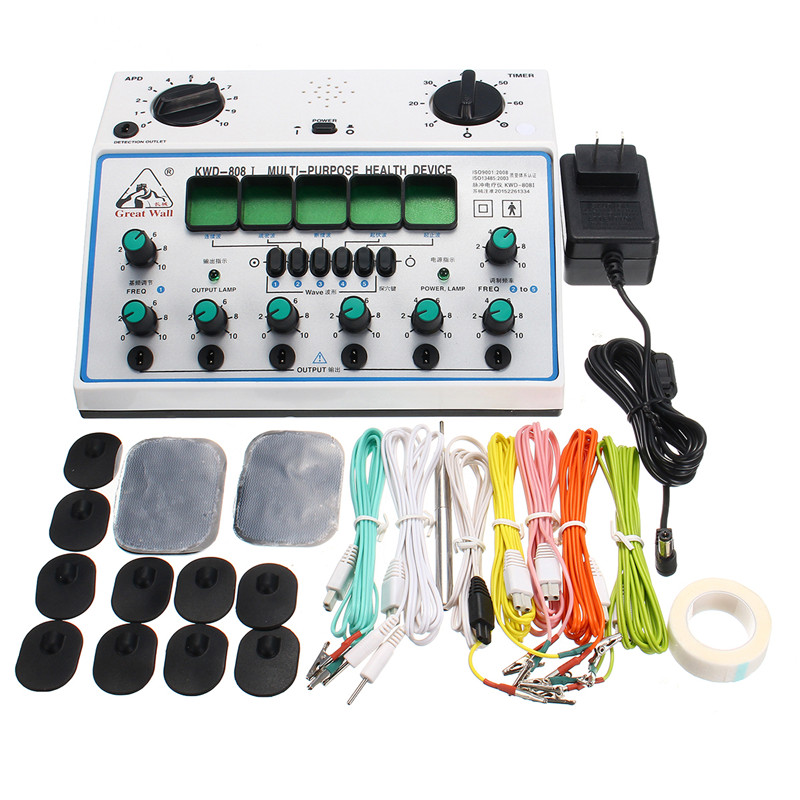 KWD808-I Electric Acupuncture Stimulator with 6 C