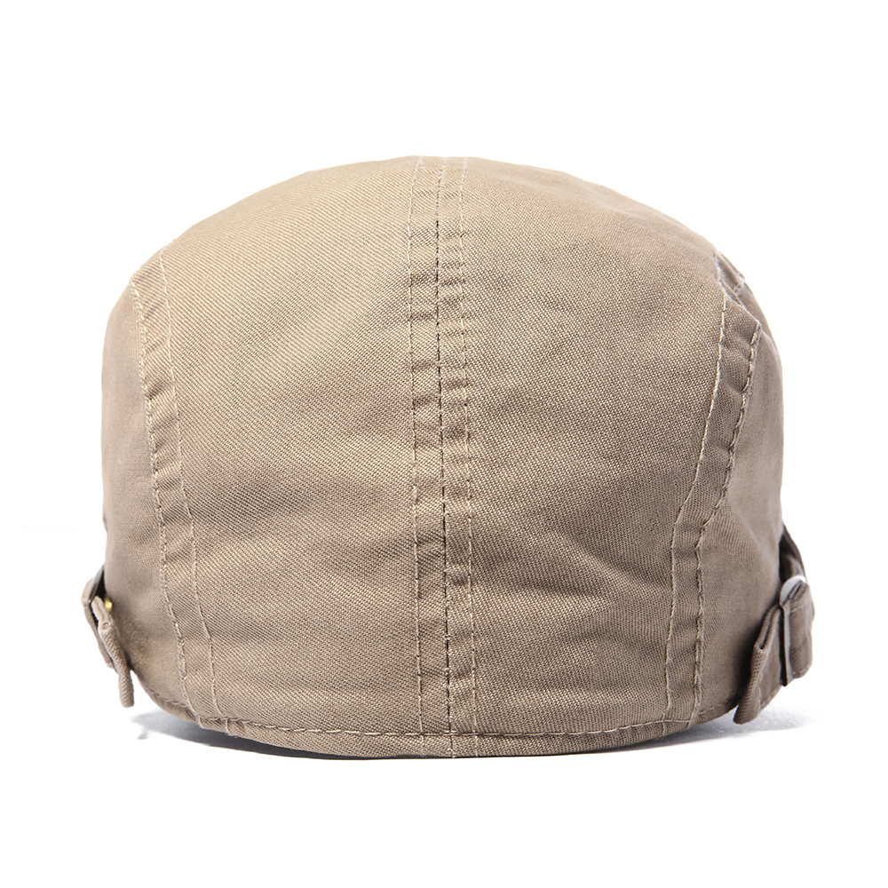 Casual Mens Literary Painter Beret Hat Cotton Adjustabl
