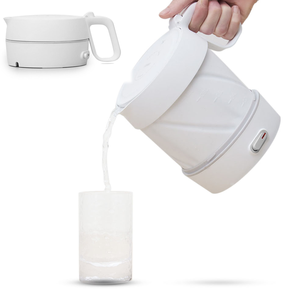 HL 600W / 1L Folding Electric Kettle Handheld Instant Heating Electric Water Kettle Protection
