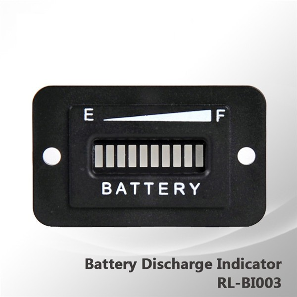 48V Golf Cart LED Battery Status Indicator Meter Gauge