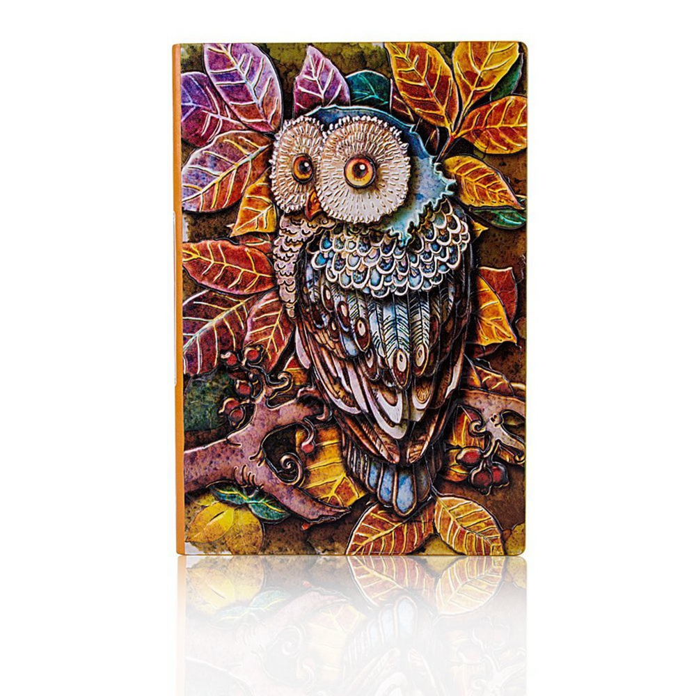 Vintage A5 PU Cover 100 Page Notebook Diary Journal Ret