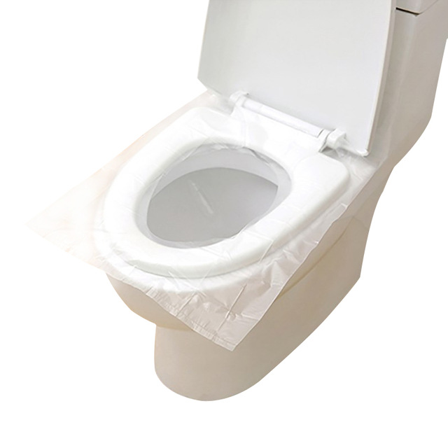 IPRee 100Pcs Disposable Toilet Seat Covers Portable One
