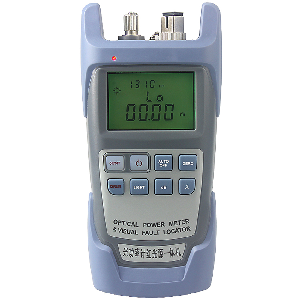 Aua 9a All In One Pc Fiber Optic Power Meter With 10km Laser Source Visual Fault Locator 1mw10