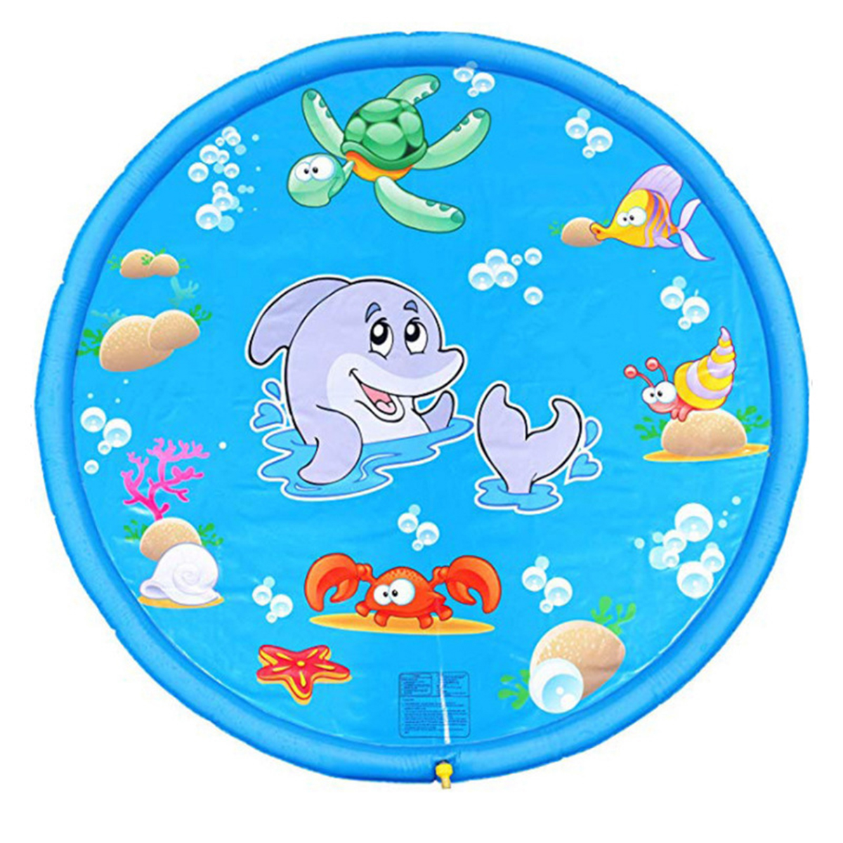 Sprinkler Water Spraying Mat Splash Inflatable Pad Summer Water Spraying Toys Outdoor Children Swimming And Playing With Water Toys