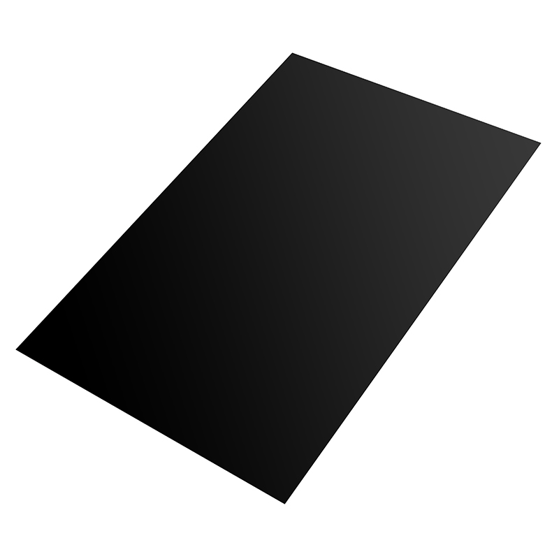 200x300x0.6mm Black Silicone Rubber Sheet Self Adhesive Pad High Temperature Plate Mat