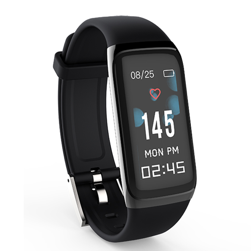 Amy Smart Bracelet Heart Rate Monitor Pedometer 0.96 In