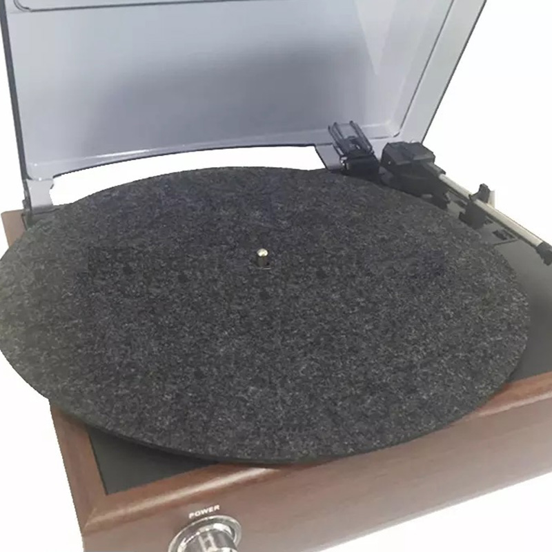 12 Inch 3MM Wool Recording Pad Anti-static Tu