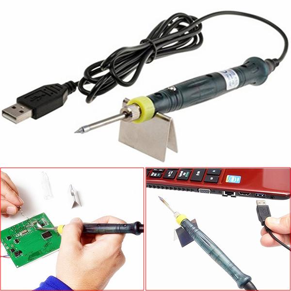 Raitool SI01 5V 8W USB Power Electric Soldering Iron We