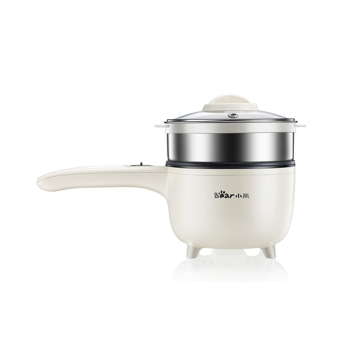Bear DRG - C10B2 Mini Electric Cooker Multi-function Household Students' Dormitory Frying Pot