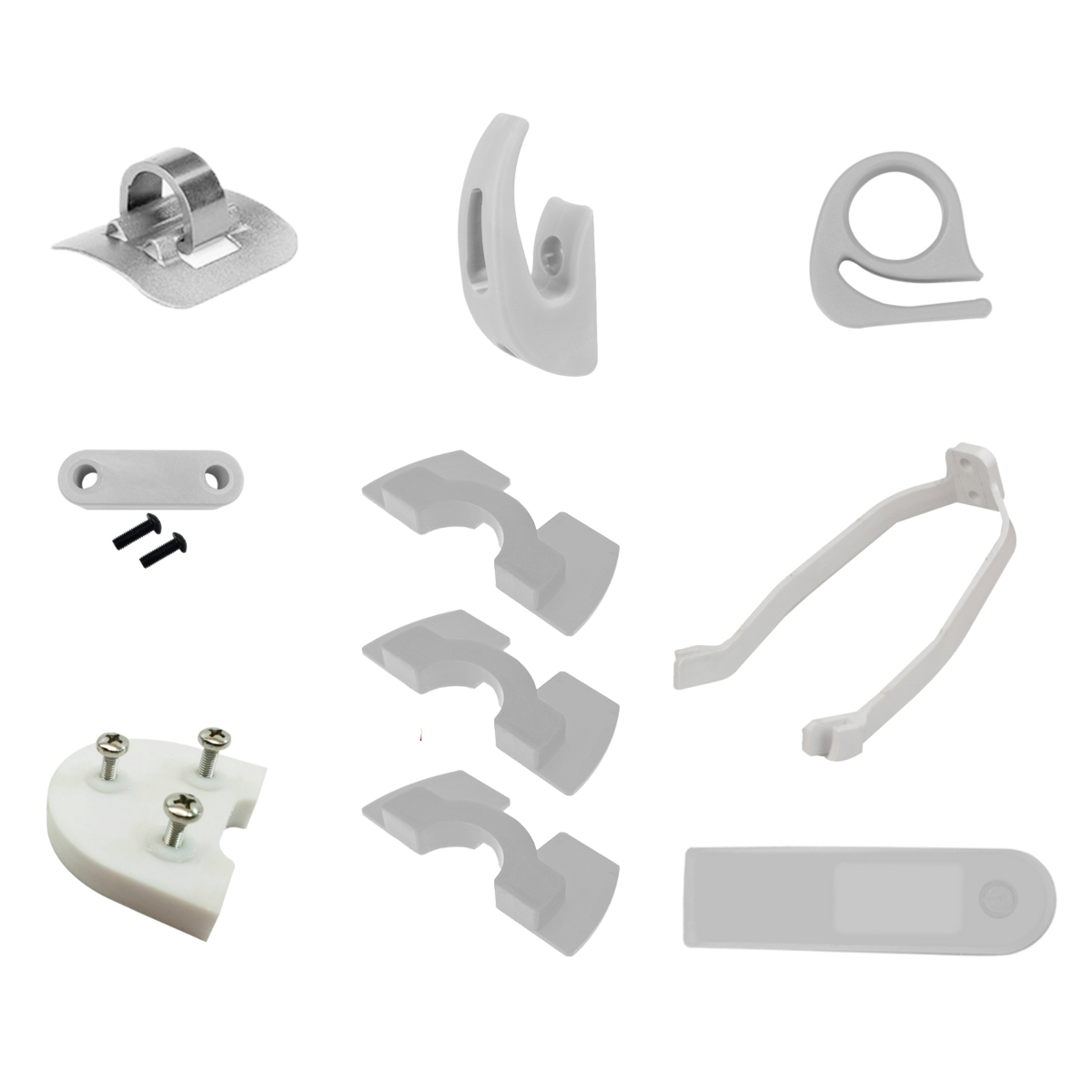 10PSC Red/Black/White Starter Kit  Scooter Accessories For Xiaomi Scooter M365/M187/PRO