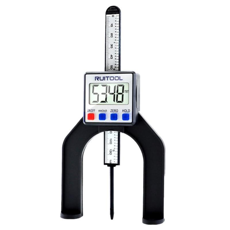 0-80mm Digital Depth Gauge LCD Magnetic Self Standing Measuring Instrument Magnetic Self Standing Measuring Accessories