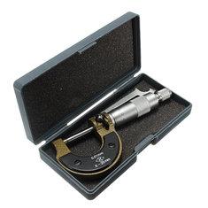 DANIU 0-25mm 0.01mm Metric Diameter Micrometer Gauge Caliper Tool