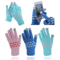 Capacitive Touch Screen Hand Warmer Knit Gloves For Tablet Cell Phone