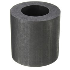 25X25mm 2 OZ Graphite Crucible Cup Ingot Bar Combo Mold For Silver Gold Melting Casting