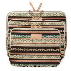 Bohemian Soft Canvas Laptop Sleeve Bag