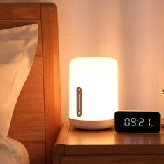 Xiaomi Mijia MJCTD02YL Colorful Bedside Light 2 bluetooth WiFi Touch APP Control Apple HomeKit Siri Coupon: BGBL222 CN $39.99