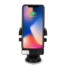 Qi Wireless Car Charger Charging Mount Holder for iPhone 8 X S8 S9