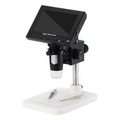 1000 x 2.0MP Magnifier USB Digital Electronic Microscope 4.3 Inch LCD Display