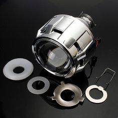 2.5 Inch Motor Bi-xenon HID Projector Angle Eye Halo Lens Headlight