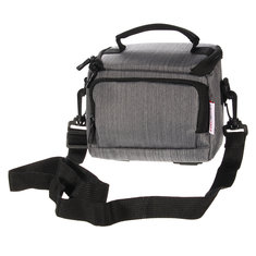 Waterproof Camera Shoulder Bag Nylon Protective Carry Case Travel Handbag with Strap