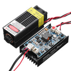 450nm 5W Laser Engraving Module Blue Light  With TTL Modulation