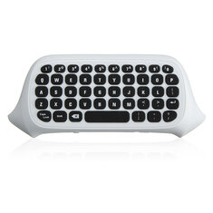 2.4G White Wireless Message Chatpad Keyboard KeyPad For Xbox One S Controller