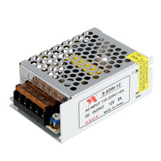 Geekcreit® AC 100-240V to DC 12V 5A 60W Switching Power Supply Module Driver Adapter LED Strip Light