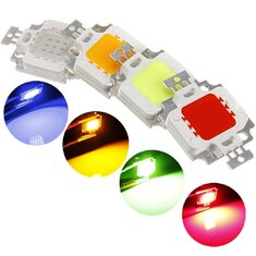 LUSTREON Multicolor 10W High Power LED Chip Ceiling Down Flood Light Lamp Accessories DC9-12V